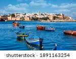 View Of The Harbour Of Rabat ...