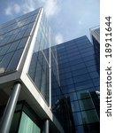 a view of a modern glass... | Shutterstock . vector #18911644