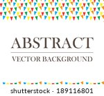 repeat abstract background... | Shutterstock .eps vector #189116801