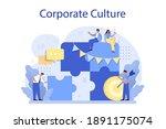 corporate culture concept....   Shutterstock .eps vector #1891175074