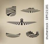 harvest. vector format | Shutterstock .eps vector #189121181
