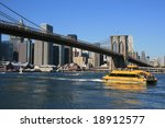 New York   Water Taxi Passing...