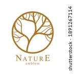 stylish vector floral monogram...   Shutterstock .eps vector #1891267114