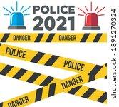 siren police flasher or... | Shutterstock .eps vector #1891270324