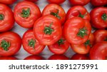 Red Tomatoes. Bunch Of Red...
