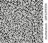 vector seamless alphabet... | Shutterstock .eps vector #1891295554