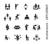 Business People Icons In...