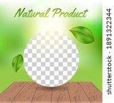 editable square banner template ... | Shutterstock .eps vector #1891322344