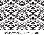 victorian seamless pattern on... | Shutterstock .eps vector #189132581