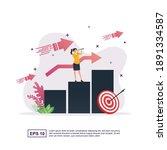 illustration concept of...   Shutterstock .eps vector #1891334587