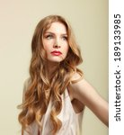 photo of beautiful woman with... | Shutterstock . vector #189133985