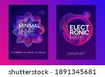 electronic event. minimal...   Shutterstock .eps vector #1891345681
