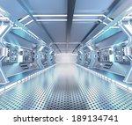 futuristic design spaceship... | Shutterstock . vector #189134741