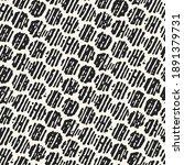 brushed ink textured dots... | Shutterstock .eps vector #1891379731