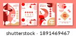happy chinese new year of the... | Shutterstock .eps vector #1891469467
