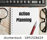 Top View Text Action Planning...