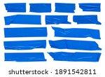 Blue Scotch Tape  Large Set Of...