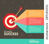 business concept | Shutterstock .eps vector #189181031