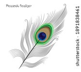 Linear Peacock Feather Pattern...