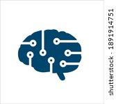 tech logo for the smart... | Shutterstock .eps vector #1891914751