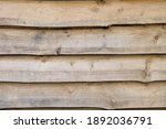 Rustic Wooden Planks Wall...