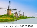 Beautiful Dutch Windmill...