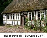 Old Danish Thatched Cottages...