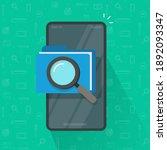 mobile scan or inspection of... | Shutterstock .eps vector #1892093347