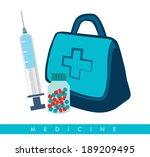 medical design over white...   Shutterstock .eps vector #189209495