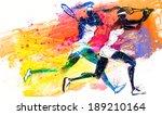 illustration of sports tennis   Shutterstock . vector #189210164
