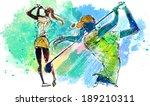 illustration of sports | Shutterstock . vector #189210311