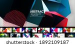 set of universal geometric... | Shutterstock .eps vector #1892109187