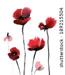 cute floral background.... | Shutterstock . vector #189215504