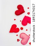 Assorted Red And Pink Hearts...