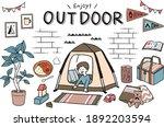 illustration set of children...   Shutterstock .eps vector #1892203594