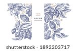 cocoa template. vector graphic...   Shutterstock .eps vector #1892203717