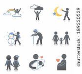 family icons | Shutterstock . vector #189220529