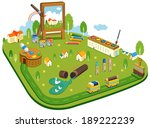 illustration of urban planning | Shutterstock . vector #189222239