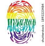 lgbt colorful flag rainbow...   Shutterstock .eps vector #1892223484