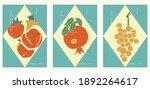 set of hand drawn still lifes... | Shutterstock .eps vector #1892264617