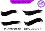 black line  grunge brush... | Shutterstock .eps vector #1892281714