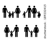 family icon  vector | Shutterstock .eps vector #189232415