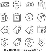 pricing tag icon illustration...   Shutterstock .eps vector #1892336497