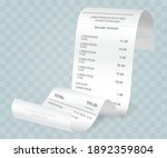 payment check isometric 3d.... | Shutterstock .eps vector #1892359804