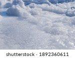 Snow Texture Background Winter. ...