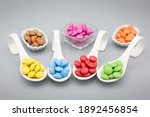 Trybowls With Smarties In...