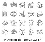 food and drink icons set.... | Shutterstock .eps vector #1892461657