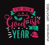 christmas lettering quote.... | Shutterstock . vector #1892476831