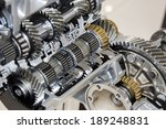 automotive transmission gearbox ... | Shutterstock . vector #189248831