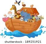 Noah Ark Cartoon